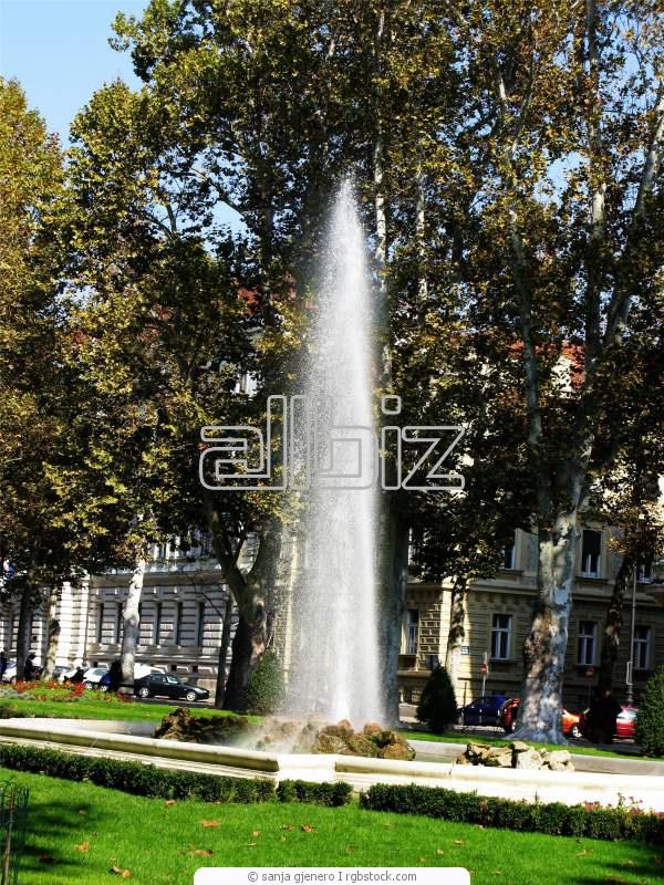Строительство и установка фонтанов