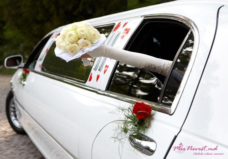 Заказать Свадебные лимузины