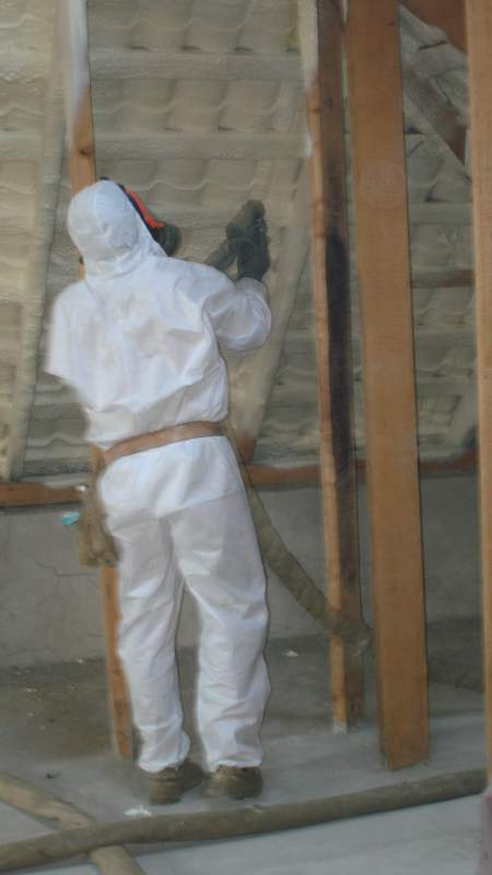 Заказать Гидроизоляция стен и крыш полиуретаном