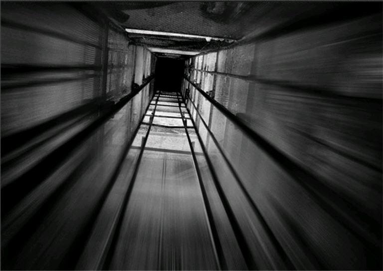 Монтаж металлоконструкции шахты лифтов