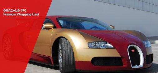 Publicitate pe automobile ,pelicula speciala pe automobilul DVS