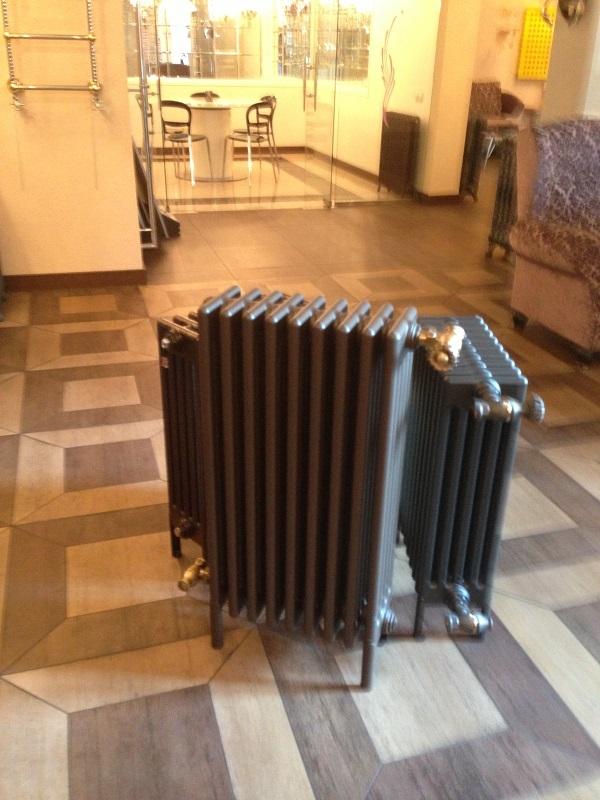 Заказать Монтаж и обвязка чугунного радиатора