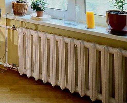 Заказать Промывка чугунных радиаторов