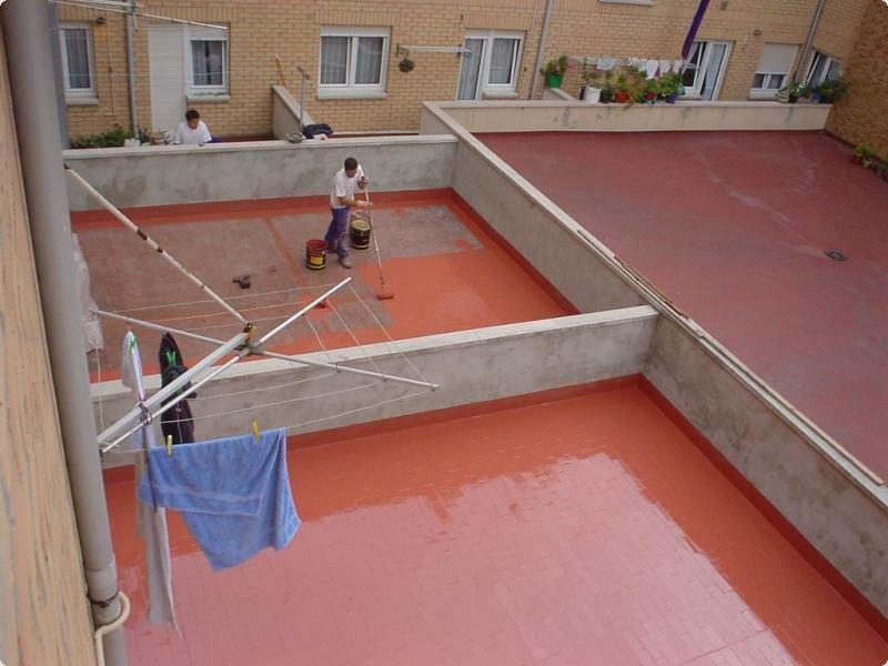 Гидроизоляция на открытом балконе
