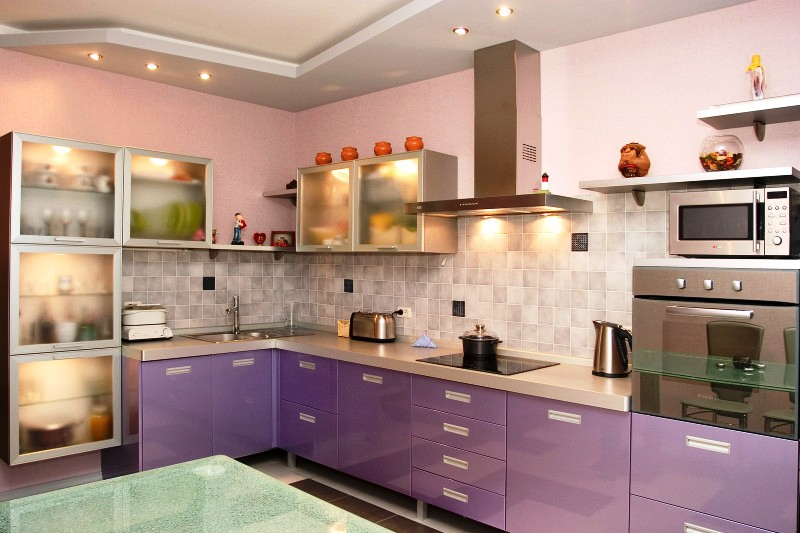 Order Selection of kitchen furniture and equipmen