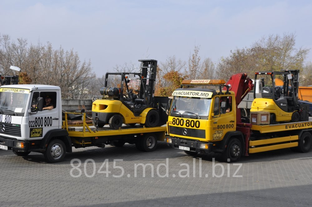 Order Servicii evacuator, services of the tow truck