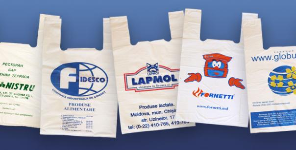 Нанесение фирменной символики на полиэтиленовые пакеты