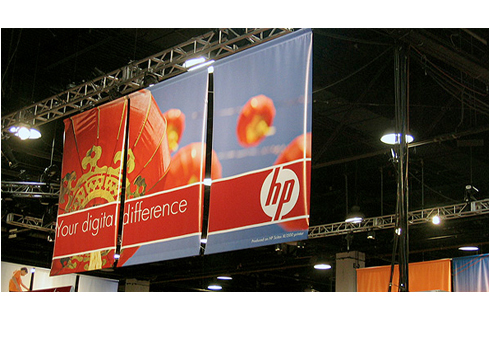 Production of external advertizing-Frontlit 440