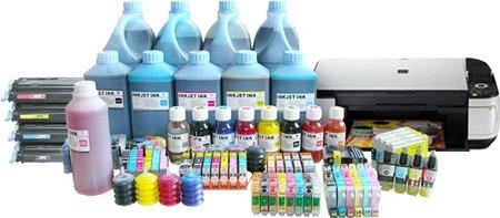 Заказать Заправка картриджей для струйных принтеров и установка систем непрерывной подачи чернил.