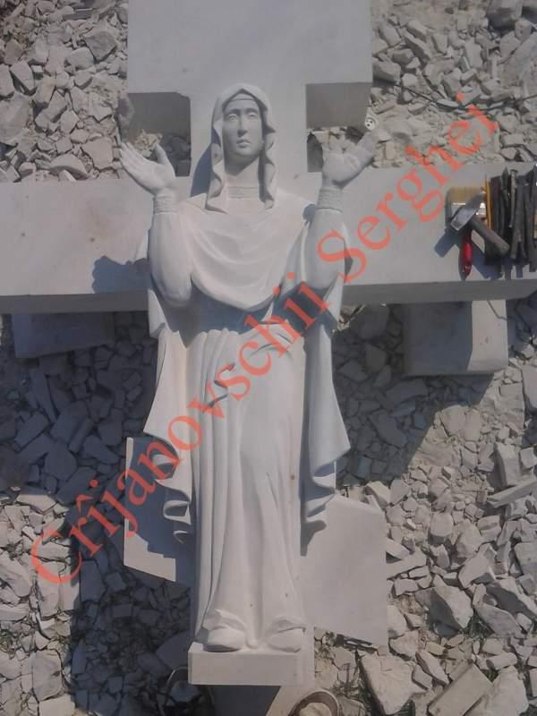 Изготовление распятия Sf.Maria