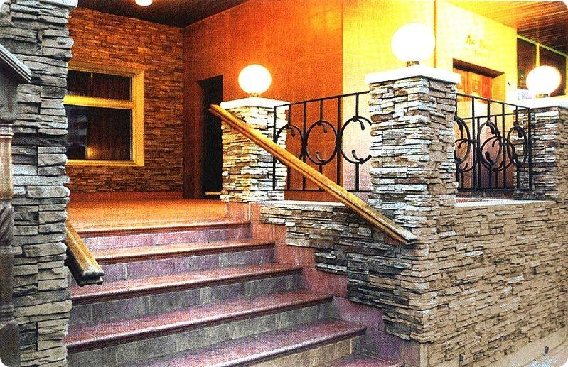 Заказать Фасадные работы из натурального камня