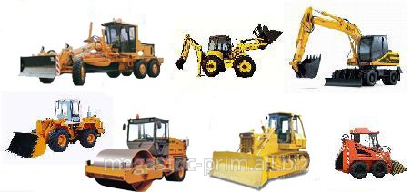 Order Rent of construction equipmen