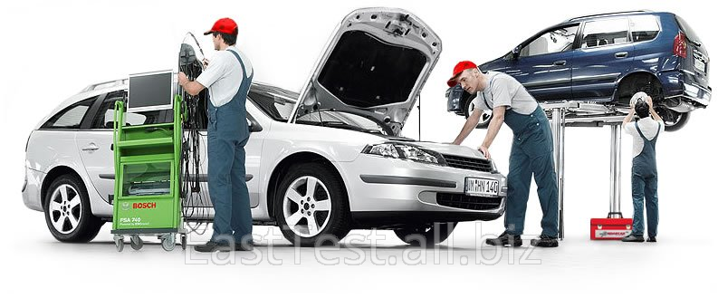 Заказать Тестирование легковых автомобилей