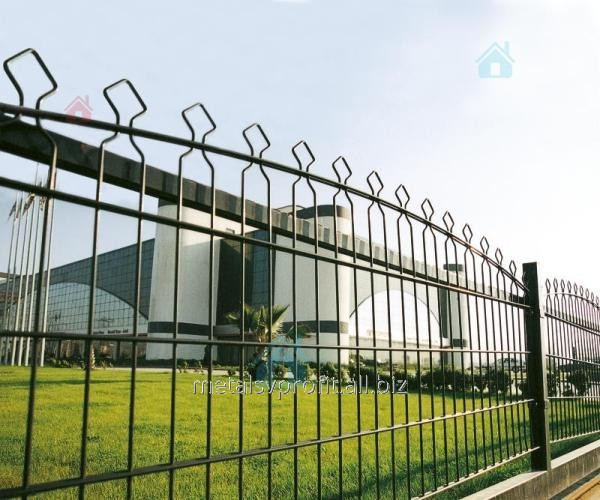production and of metal fences
