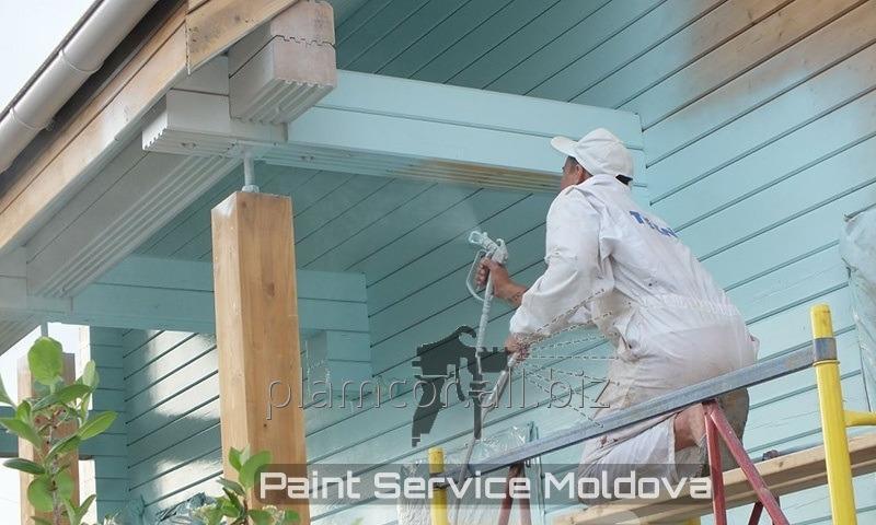 Заказать Обновите ваш фасад! Механизированная покраска стен!!!