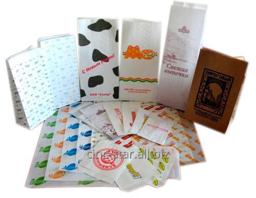 Заказать Изготовление бумажных пакетов с логотипом.