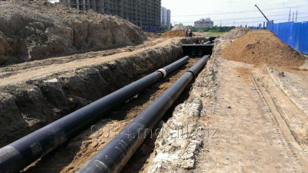 Заказать Монтаж инженерных сетей канализации