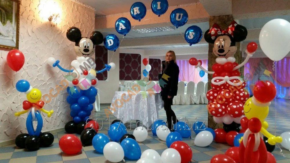 Заказать Декор воздушными шарами на любые мероприятия