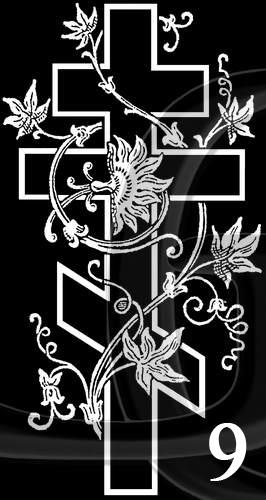 Заказать Гравировка Крест-09