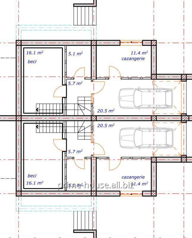 Заказать Проектирование подвалов и подземелий(Proectarea subsolurilor)