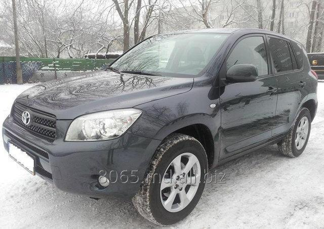 Заказать Прокат автомобиля Toyota RAV-4, Crossover, 2009