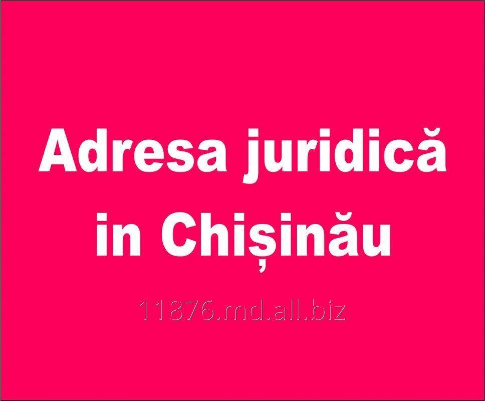Заказать Adresa juridică in Chișinău