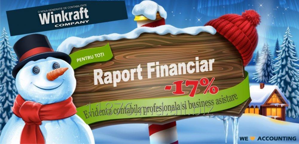 Заказать Raport financiar
