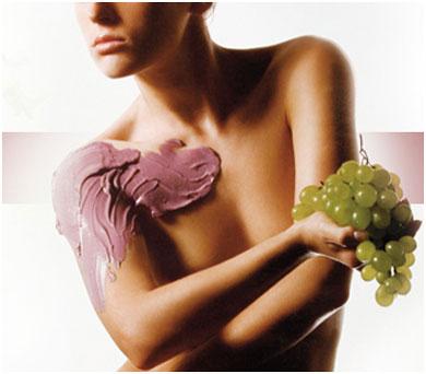 Заказать Виноградное обертывание Grape wine
