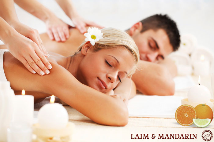 Заказать Спа-ритуал Лайм & Мандарин - Energizing touch