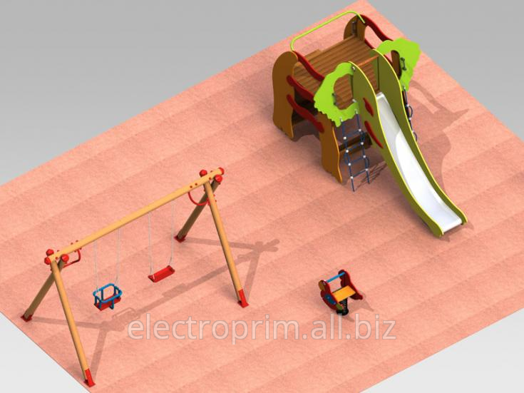 Order Platforms of a 3D model to Children from 2 to 5 years complex 4.3 Type
