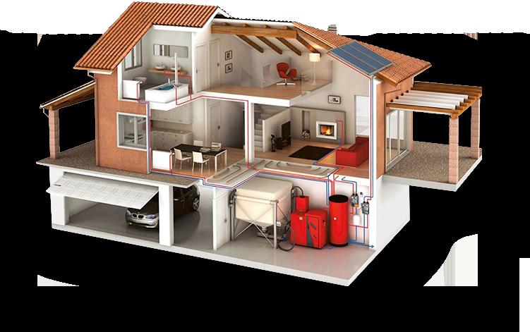 Заказать Монтаж энергосберегающего отопления от компании Thermo Solutions, SRL