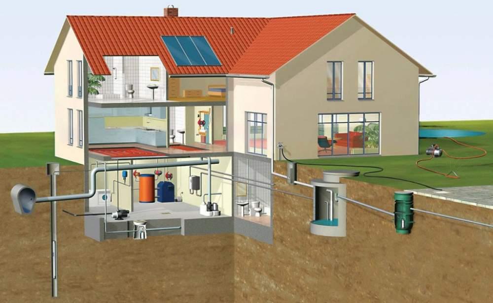 Заказать Монтаж и реконструкция систем водоснабжения