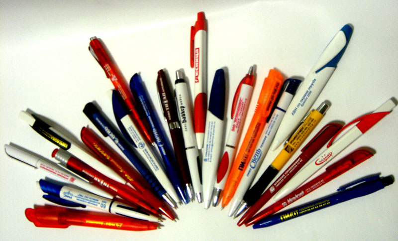 Заказать Нанесение логотипов на ручки от рекламного агентства Lucky Star.