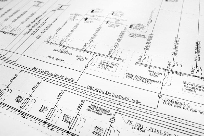 Заказать Проектирование-Электро монтажные работы