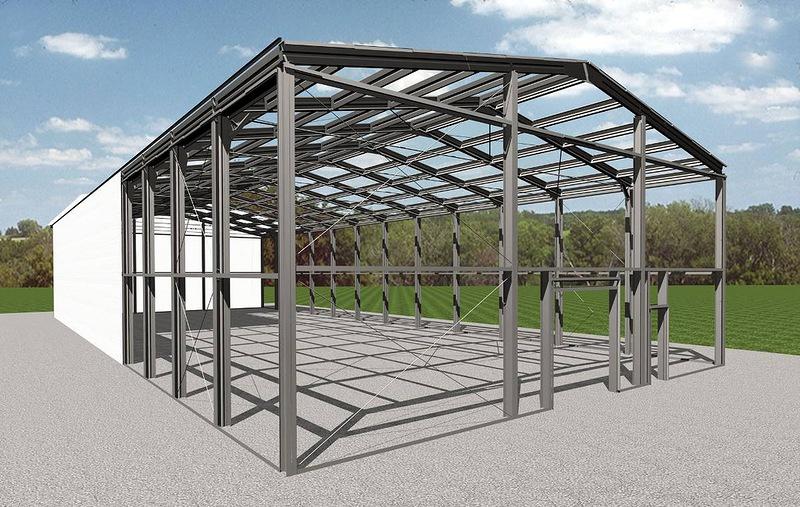 Comanda Constructia structurilor metalice - hangare