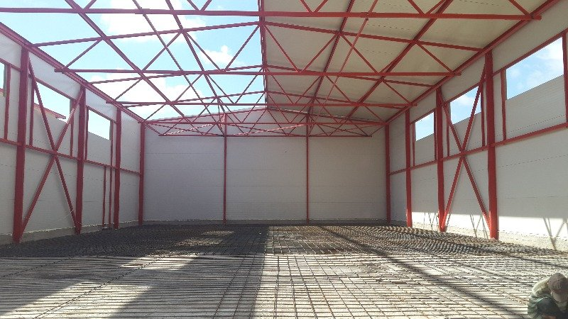 Building of agriculture projects