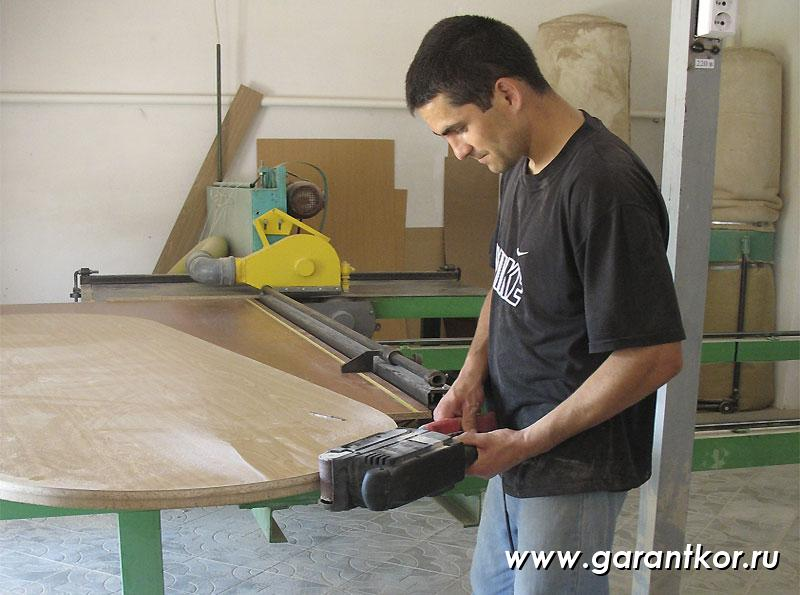 Order Production of cabinet furniture