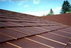Production of copper roof