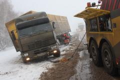 Towage of trucks