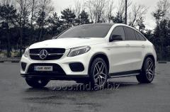 Rent a car Mercede GLE Coupe 43 AMG