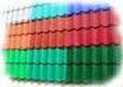 Polymeric coloring of profiles