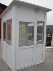 Cabina paza termopan
