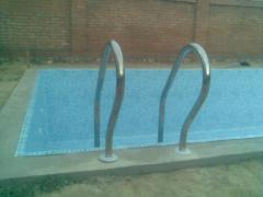 Repair and service of pools