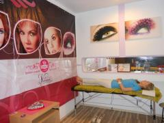 Salon of eyelash extension