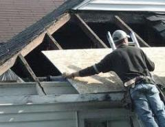 Dismantle of a roof