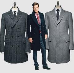 Пошив мужской верхней одежды-костюмов,пальто,курток,плащей.
