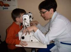 Children's surgery in ophthalmology in