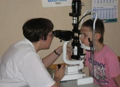 Treatment of injuries of eye in Chisina