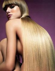 Наращивание волос - шелковистый водопад