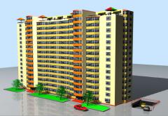 Строительство квартир на улице Грэдина Ботаникэ